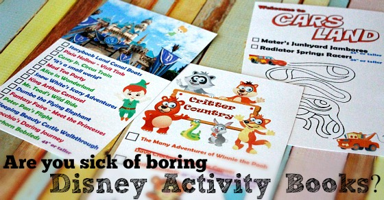 2016 Unofficial Disneyland Activity & Autograph book by BusyMomsHelper Facebook 2 Text