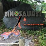 Houston Happenings-Dinosaurs at The Zoo